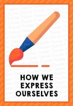 PYP UOI Posters: How We Express Ourselves