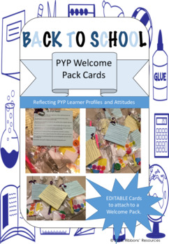 PYP Welcome Pack Cards