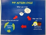 PYP action plan with student action plan sheet