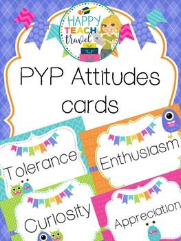 PYP attitude cards