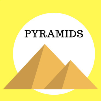 PYRAMIDS VOCABULARY Word Search