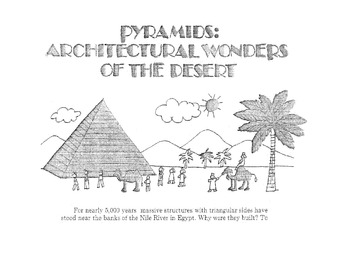Puzzle on PYRAMIDS: WONDERS OF THE DESERT Info Text Worksh