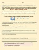 PYTHAGOREAN THEOREM- ALTERNATE SOLUTION, MATH JOURNAL ACTIVITY