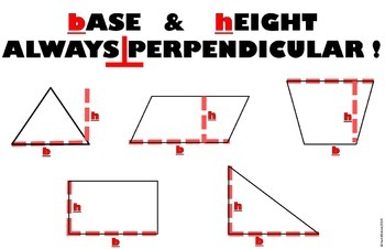 ALTITUDE AND BASE ARE PERPENDICULAR PYTHAGOREAN THEOREM