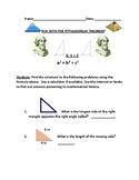 PYTHAGOREAN THEOREM PROJECT GRADES 7-12