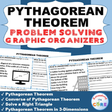 PYTHAGOREAN THEOREM Word Problems with Graphic Organizer