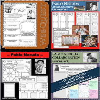 Pablo Neruda - WEBQUEST for Poetry - Famous Poet