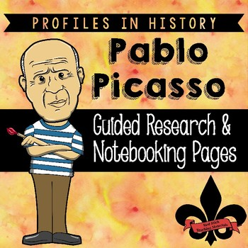 Pablo Picaso Guided Research Activity
