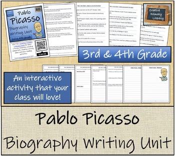 Pablo Picasso - 3rd Grade & 4th Grade Close Reading & Biography Bundle