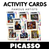 Pablo Picasso - Art Task Cards - 50 Card Set