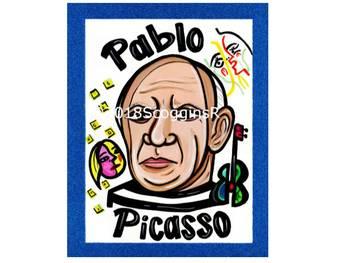 Pablo Picasso- Artist Poster