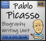 Pablo Picasso - Biography Writing Activity