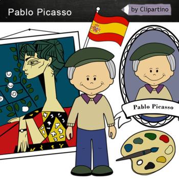 Pablo Picasso Clipart