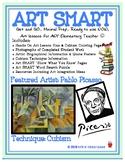Pablo Picasso & Cubism Art SMART Lesson Plan: Art Activity