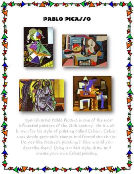 Pablo Picasso Cubism Project