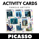 Pablo Picasso - Famous Artist Activity Cards - Task Cards