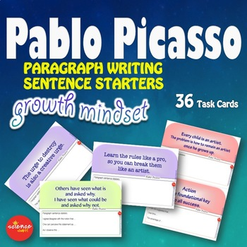 Luminaries-NO PREP-Growth Mindset Sentence Starters Paragraph Writing PICASSO