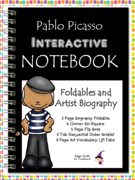 Pablo Picasso Interactive Notebook Foldables