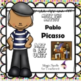 Pablo Picasso - Famous Artists Art & Biography Unit - DISTANCE LEARNING - PACK