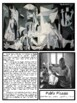 Artist Pablo Picasso Montessori 3 Part Cards with Display Card