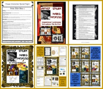 Pablo Picasso PowerPoint Slideshow