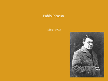 Pablo Picasso Powerpoint