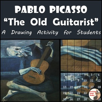 "Pablo Picasso - Recreation ""The Old Guitarist"" Painting"
