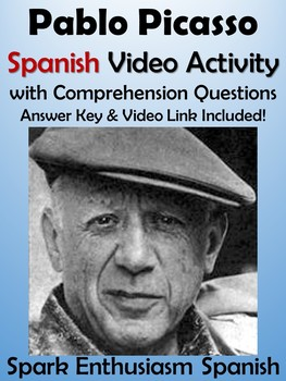 Pablo Picasso Spanish Video Activity - Biography