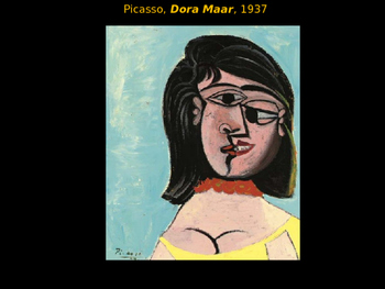 Pablo Picasso's Cubism by Dora Maar
