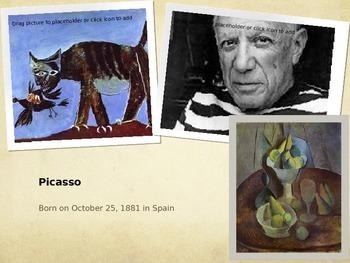 Pablo Picasso's Life & Art