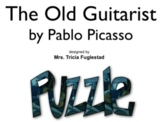Pablo Picasso's Old Guitarist ~Interactive Whiteboard Art Puzzle and Tutorial