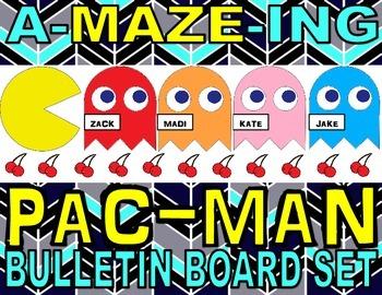 Pac-Man Bulletin Board Set