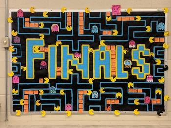 Pac-Man (Finals) Bulletin Board