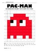 Pac-Man Hundreds Chart Coloring Pages
