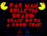 Pac Man Themed Music Bulletin Board: Chase Down a Good Tune