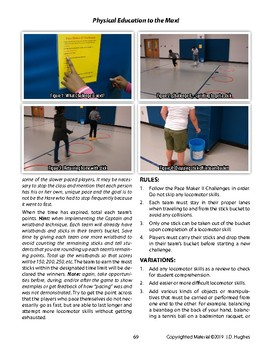 Pace Maker II Aerobic Game for Physical Education to Reinforce Pacing