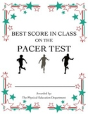 Pacer Fitnessgram Certificate - Best in Class!