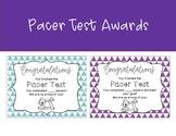 Pacer Test Awards
