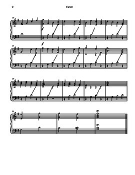 Pachelbel's Canon for Tone Chimes/ Choir Chimes