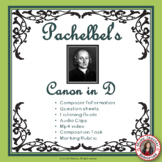 Music Listening: Pachelbel's Canon in D Listening and Music Composition Activity