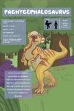 Pachycephalosaurus - Dinosaur Poster & Handout