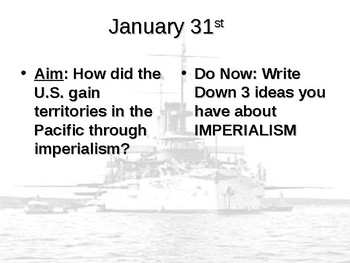 Pacific Imperialism PowerPoint