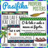 Pacific Islands Growth Mindset Proverb Posters | Pacific Islands