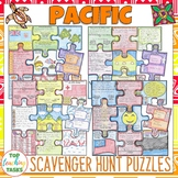 Pacific Islands Scavenger Hunt Puzzles BUNDLE
