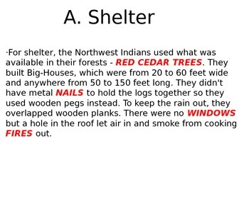 Pacific Northwest Native Americans Powerpoint