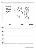 Pacific States Quiz