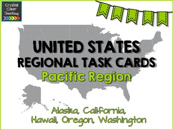 Pacific States Region Task Cards