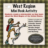 Pacific West Region Unit Booklet or Interactive Notebook Lesson Worksheets