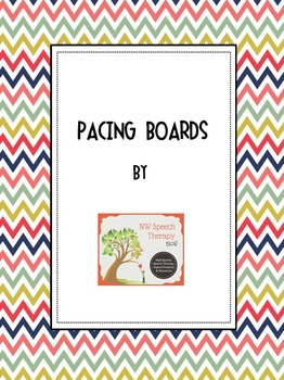 Speech Therapy Materials: Pacing Boards