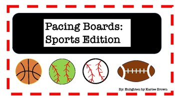 Pacing Boards: Sports Edition!